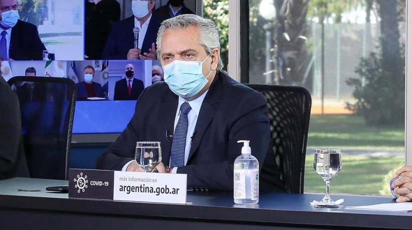 """Que no dude ningún acreedor"""": Alberto Fernández dijo que """"no va a ..."""