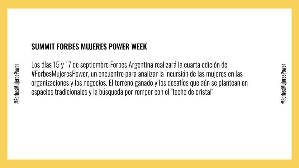 Mujeres Power Week