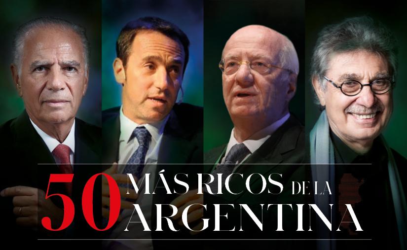 50 más ricos de la Argentina