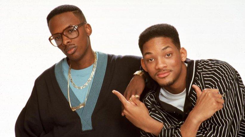 """Will Smith, en la época en que brilló en """"El Príncipe del Rap""""."""