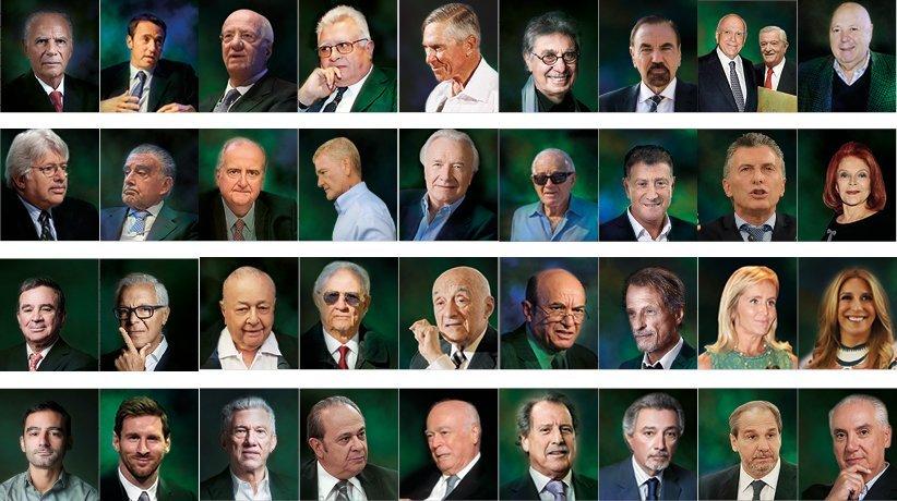 foto de los más ricos de argentina