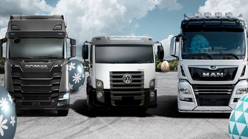 Los camiones de Volkswagen en los que podrían aplicarse apps de conducción autón