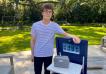 Este emprendedor de 17 años está ayudando a que los viajes sean libres de gérmenes