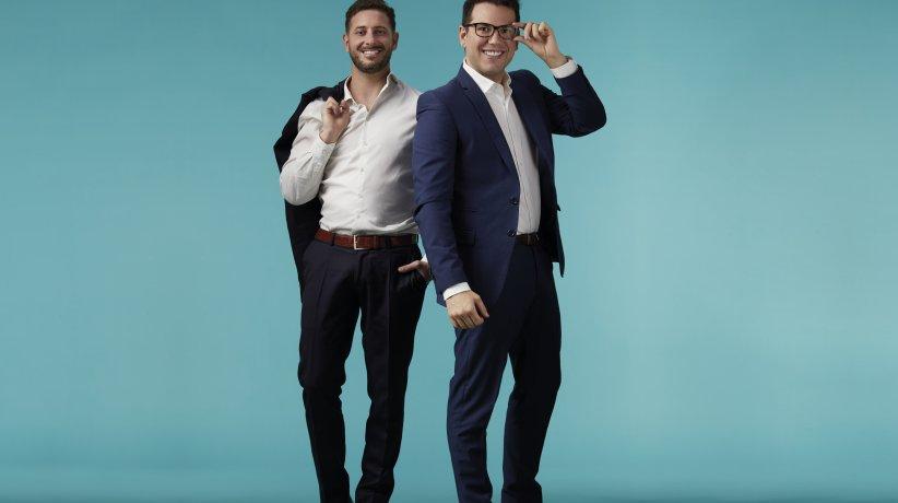 Gonzalo Soaje Pinto y Lucas Maillandm fundadores de Fichap.