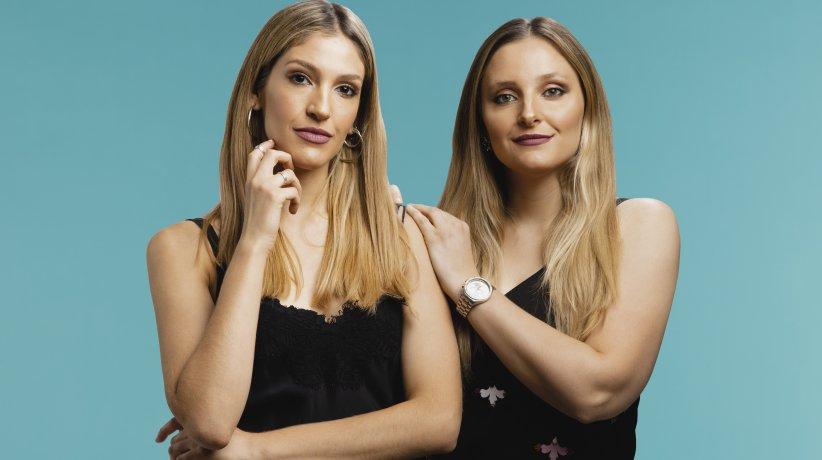Agostina y Antonella Mazza, de Mazz Make Up