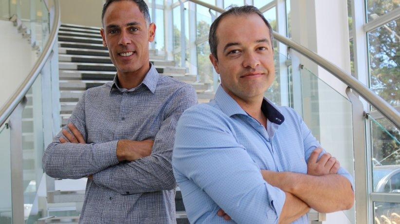Esteban Lombardía y Adrián Rovetto, de Terragene