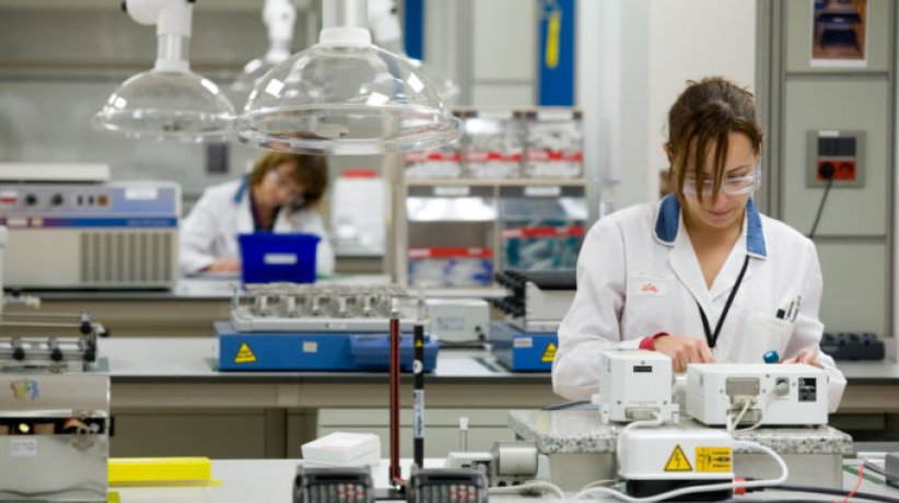 Industria farmacéutica.
