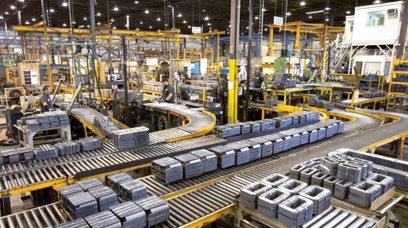 Actividad industrial.