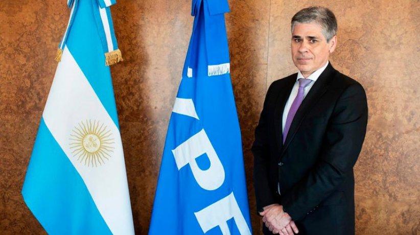 Pablo González presidente de YPF