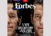 La revolucionaria tapa de Forbes US: arte, millonarios y filantropía