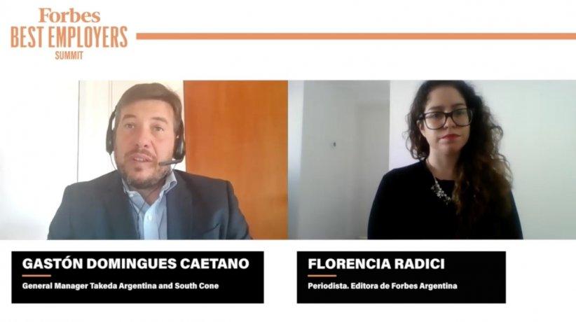 """Domínguez Caetano, de Takeda Cono Sur: """"La pandemia mostró que necesitamos  reconectarnos"""" - Forbes Argentina"""