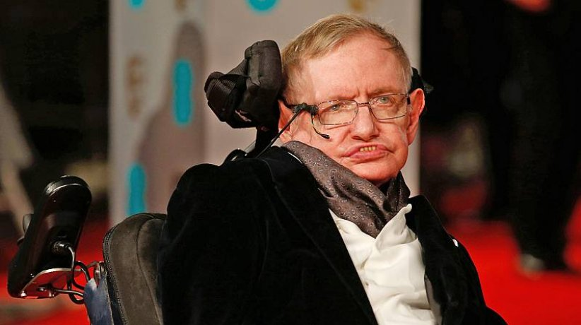 Sthepen Hawking.