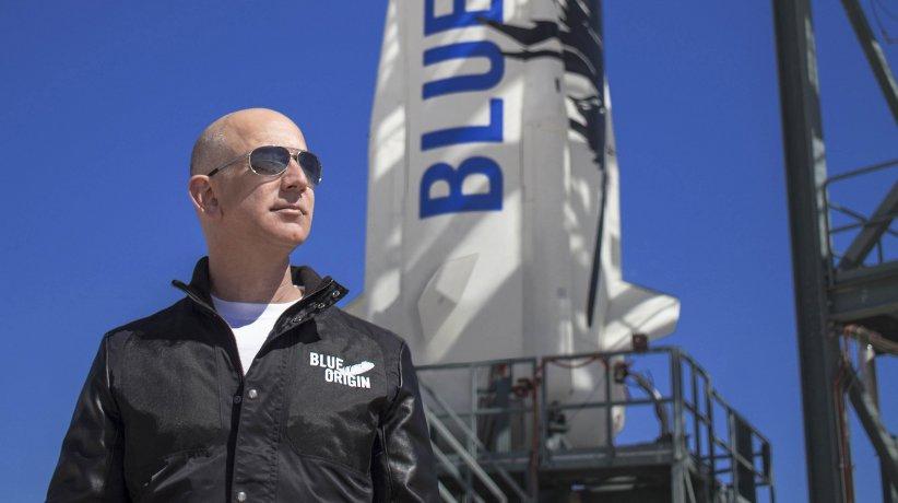 Jeff Bezos y el espacio
