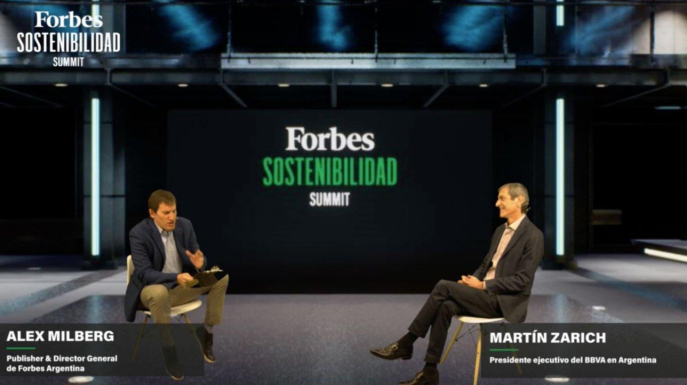 Martín Zarich, de BBVA, cuenta cómo la sostenibilidad está atravesando al banco